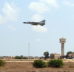 Caça MiG-23 da Força Aérea líbia, Líbia, 4 de setembro de 2016