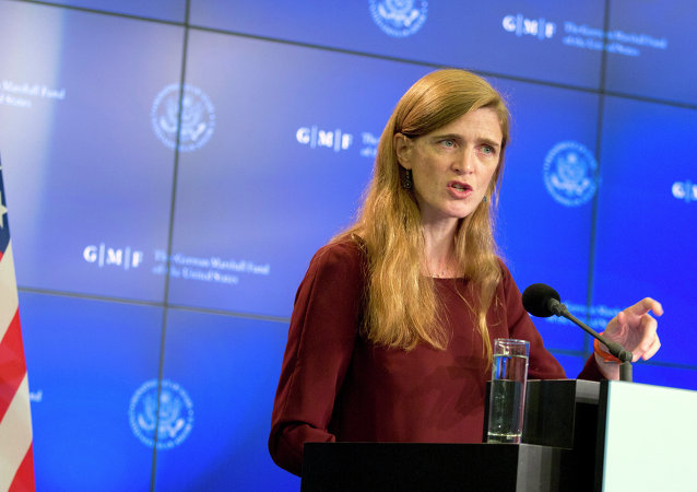 Samantha Power, representante permanente dos EUA na ONU