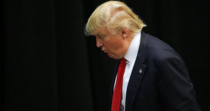 Presidenciável Donald Trump do Partido Republicano