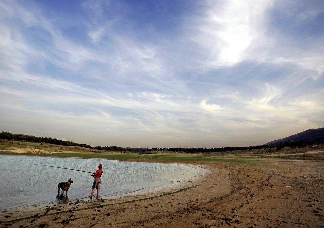 Região espanhola de Guadalajara, foto de arquivo de 2005
