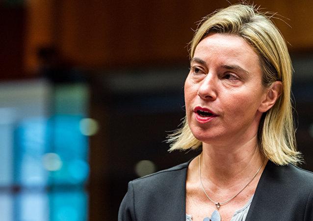 Federica Mogherini, alta representante da UE para Política Externa e Segurança