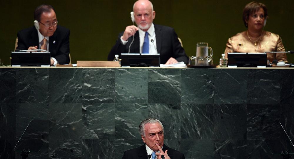 Temer na ONU 1