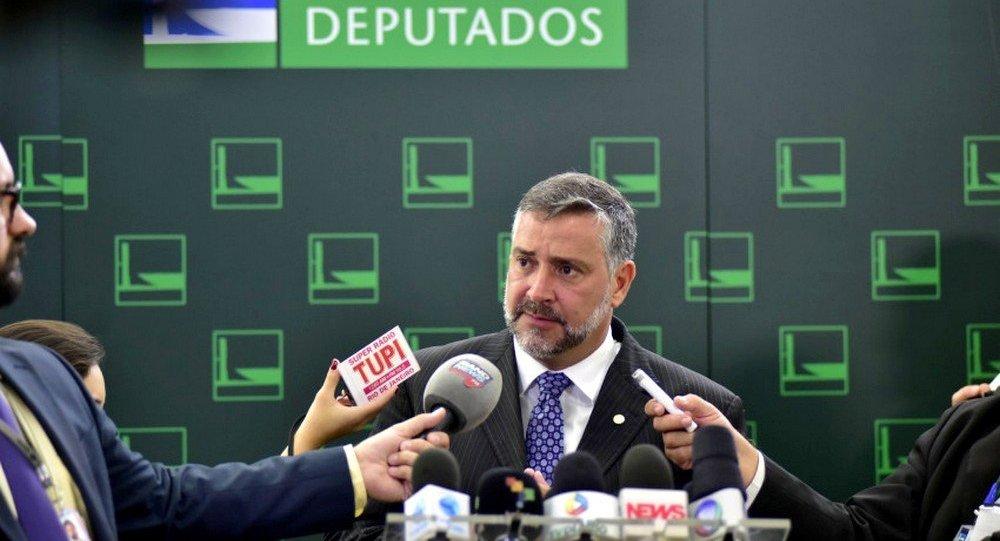 Deputado Paulo Pimenta (PT- RS)