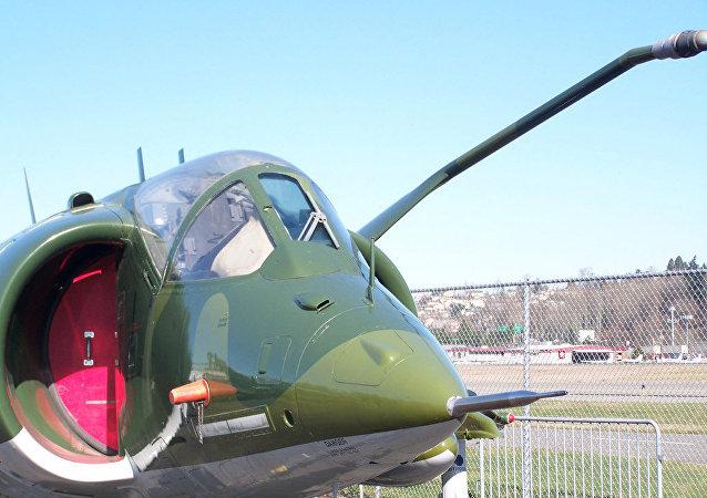 Avião de assalto AV-8 Harrier II norte-americano