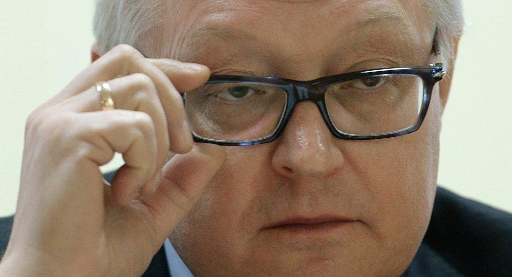 O vice-ministro das relações exteriores da Rússia, Serguei Ryabkov
