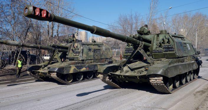 Ekaterinburgo se prepara para parada militar da Vitória