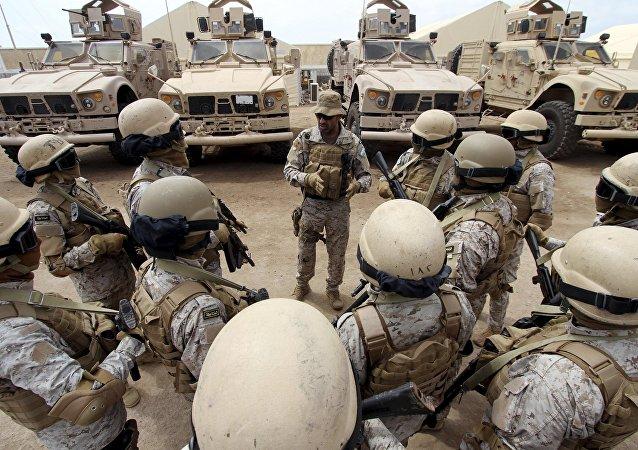 Forças sauditas no Iêmen