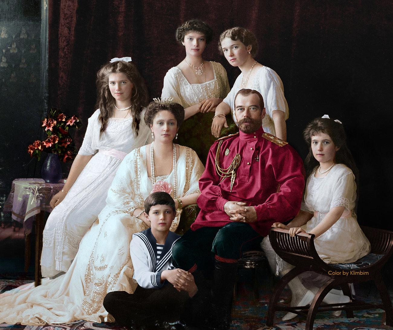 Família de Romanov