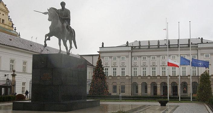 Palácio Presidencial em Varsóvia, Polônia