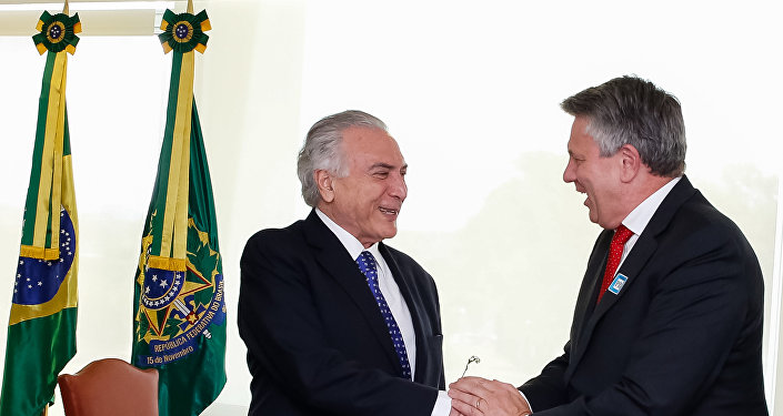 Michel Temer se encontra com o CEO da Royal Dutch Shell, Ben van Beurden