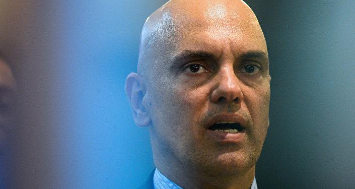 Alexandre de Moraes, ministro da Justiça do Brasil