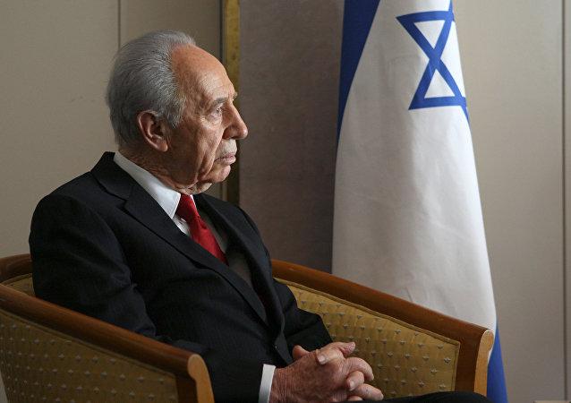 Ex-presidente de Israel, Shimon Peres