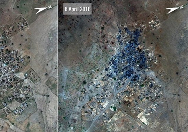 Evidências do uso de armas químicas em Darfur, segundo relatório da Anistia Internacional