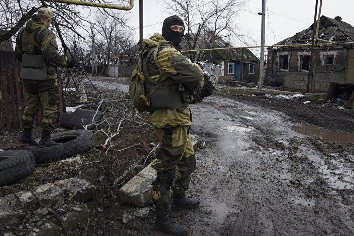 Milícias em Donetsk