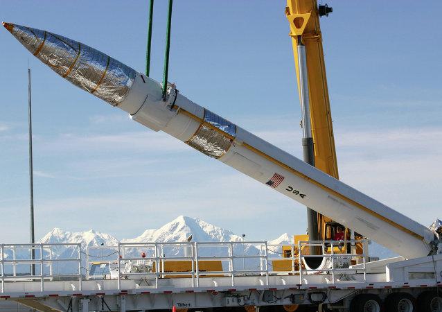 Interceptor de mísseis norte-americano