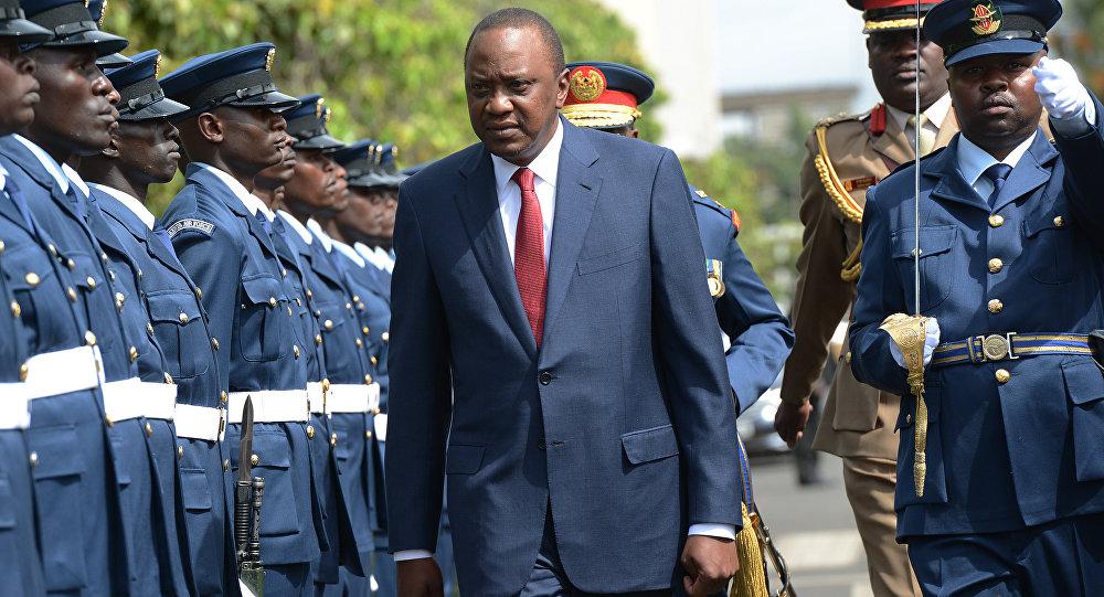 Uhuru Kenyatta, presidente do Quênia