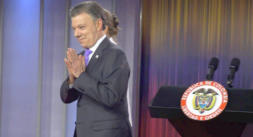 Juan Manuel Santos, ganhador do Prêmio Nobel da Paz 2016