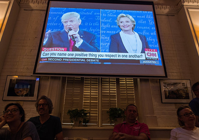 Segundo pesquisa realizada pela CNN/ORC, 57% dos entrevistados deram vitória a Hillary em debate