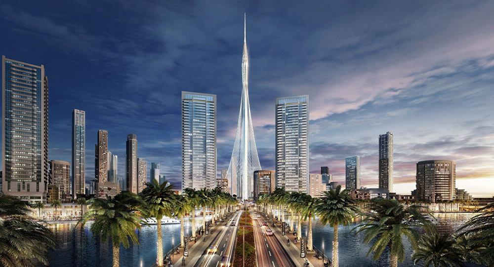 Projeto da torre mais alta do mundo, The Tower, em Dubai