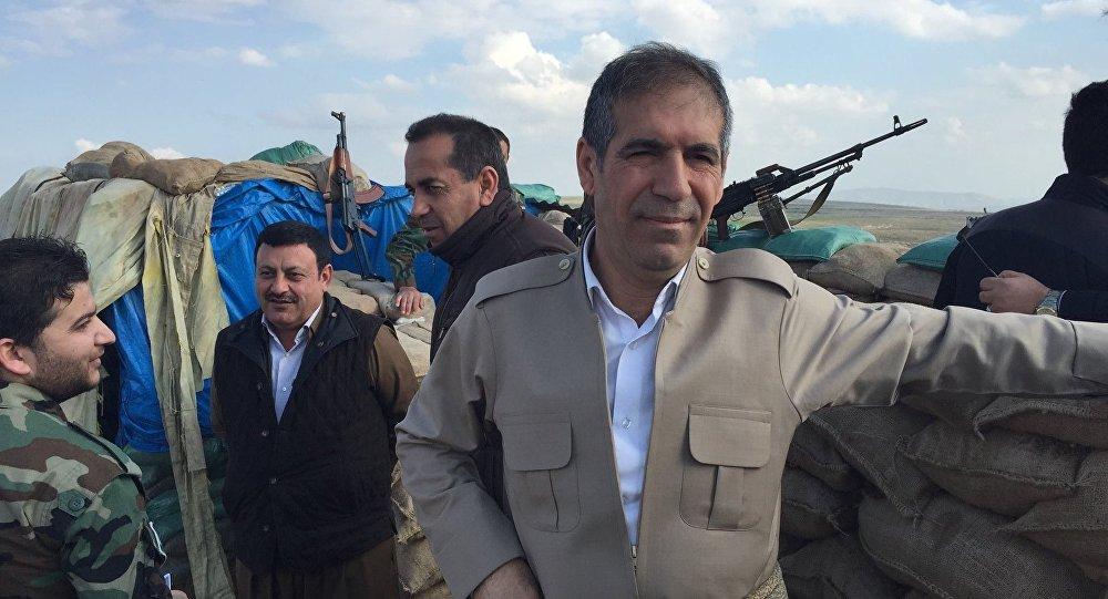 Representante do Partido Democrata do Curdistão em Mossul, Said Mamuzini
