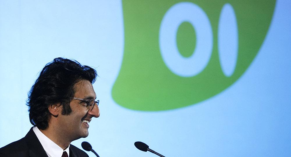 Zeinal Bava, presidente executivo da Portugal Telecom, parceiro da Oi, durante uma coletiva em Lisboa em 28 de julho de 2010