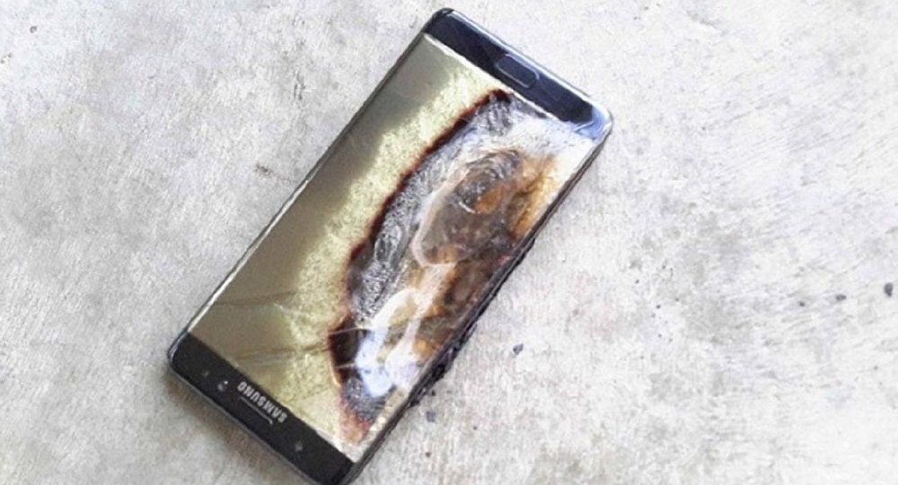 Samsung Galaxy Note 7 explode