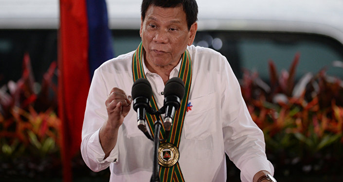 Presidente filipino, Rodrigo Duterte