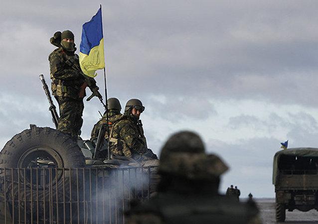 Forças ucranianas (foto de arquivo)