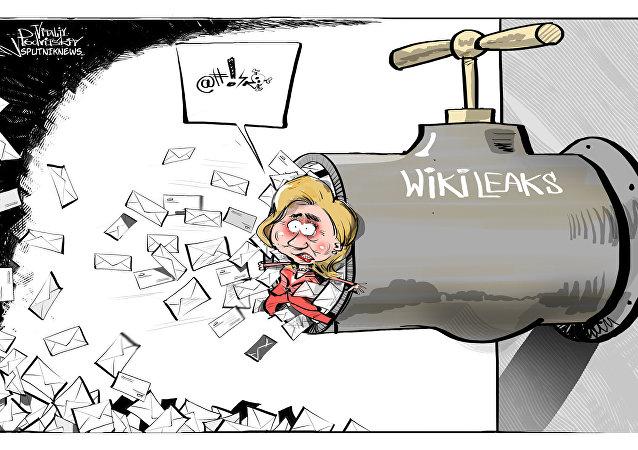 É muita pressão na torneira!..