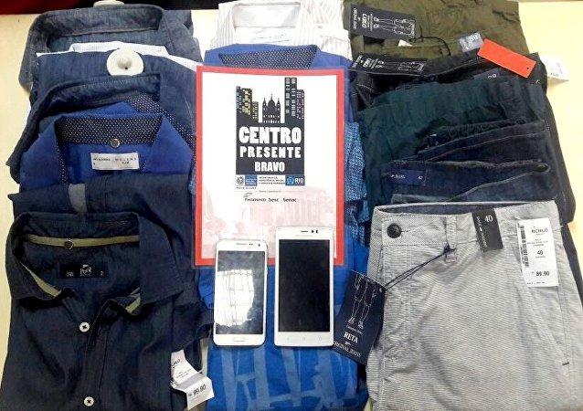 Centro Presente - Objetos furtados pelos colombianos