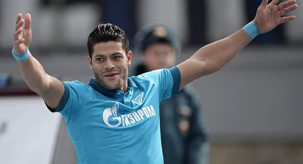 Hulk, atacante do Zenit São Petersburgo.