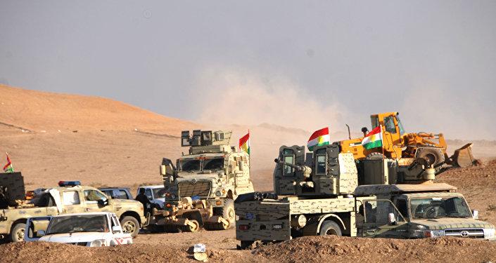 Operação em Mossul. 21.10.2016