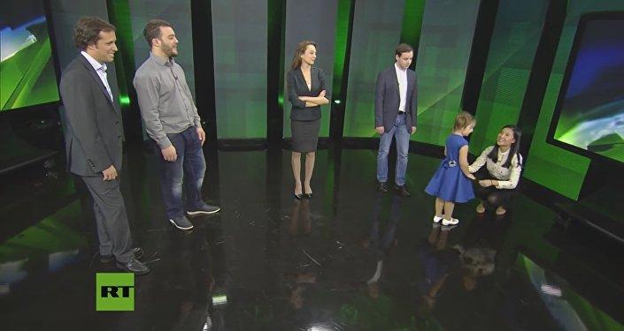 Bella Deviátkina em programa da RT