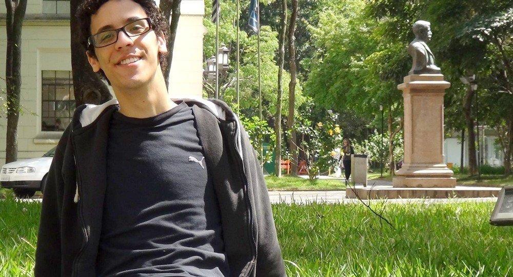 Estudante de medicina Pablo Rodrigo Andrade
