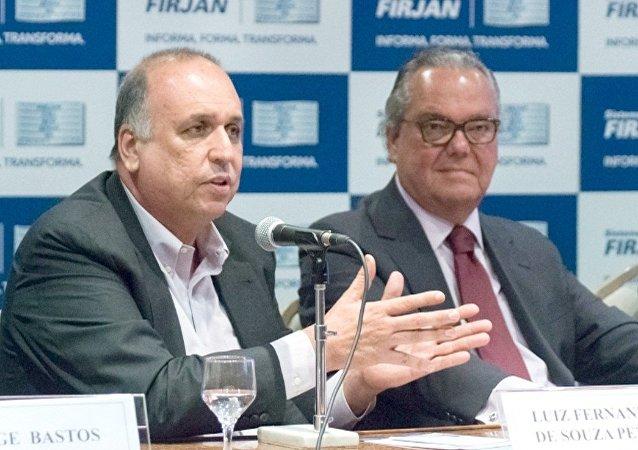Governador Pezão participa de encontro na Firjan
