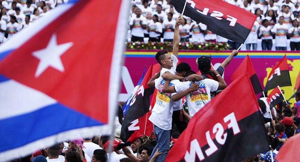 Frente Sandinista de Libertação Nacional (FSLN), do candidato Daniel Ortega, é o favorito nas eleições da Nicarágua