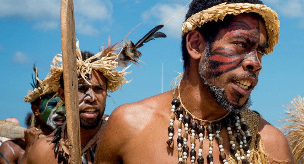 melanésios, habitantes do nordeste da Austrália