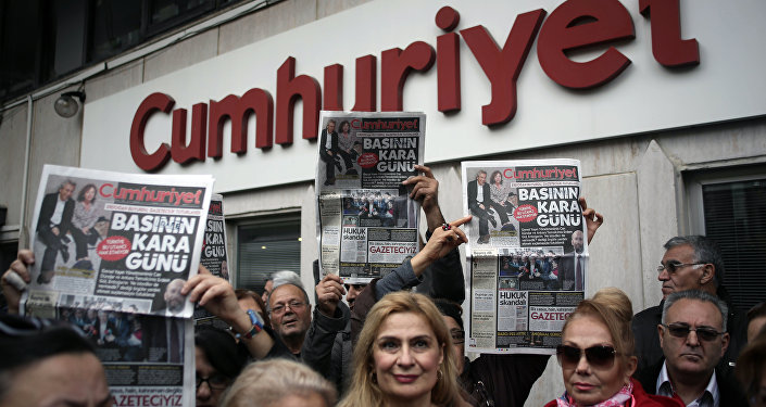Jornal turco Cumhuriyet