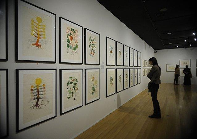 Exposição de Salvador Dalí no CCBB do Rio de Janeiro