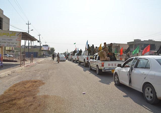 Milícia Hasdi Sabi luta contra o Daesh no Iraque