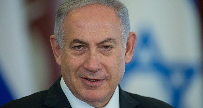 O encontro do presidente russo Putin e primeiro-ministro de Israel Netayahu