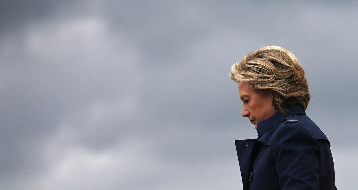 Presidenciável do Partido Democrata Hillary Clinton