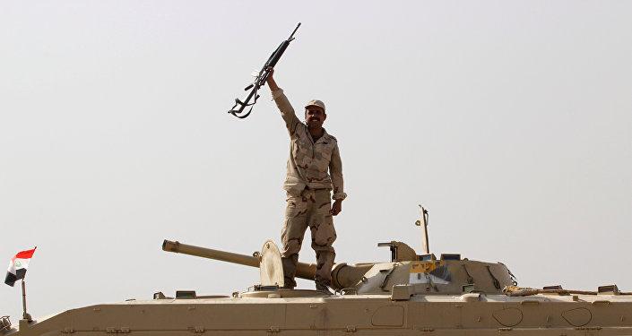 Militar iraquiano em Kirkuk (foto de arquivo)