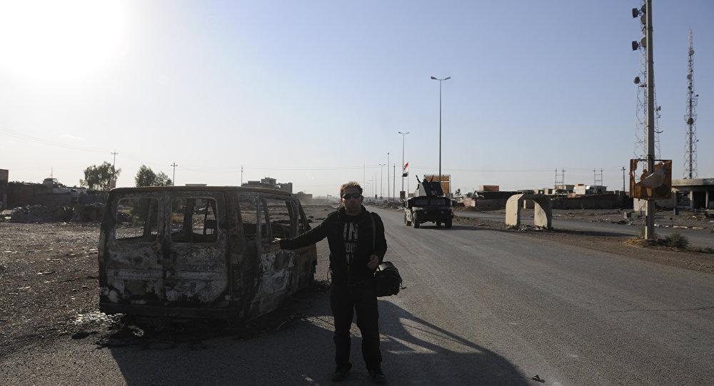Sputnik esteve em bairro de Mossul, liberado do Daesh pelas tropas iraquianas