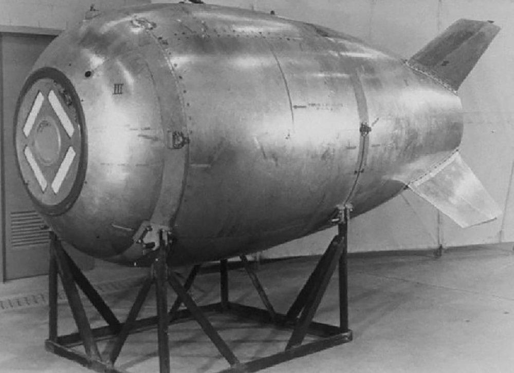 Bomba nuclear Mark 4, perdida pelos EUA em 1950
