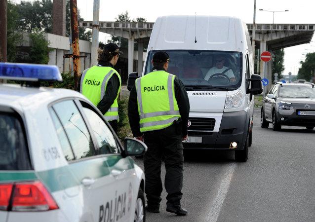Polícia eslovaca