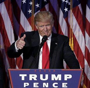 Donald Trump, futuro presidente dos Estados Unidos