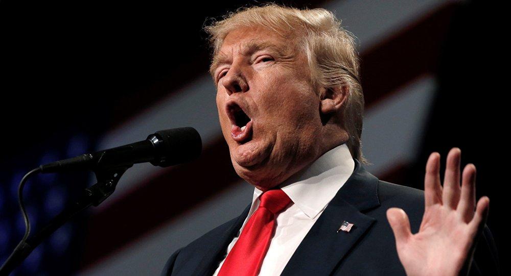 Donald Trump em Reno, Nevada, EUA, Outubro 5, 2016.