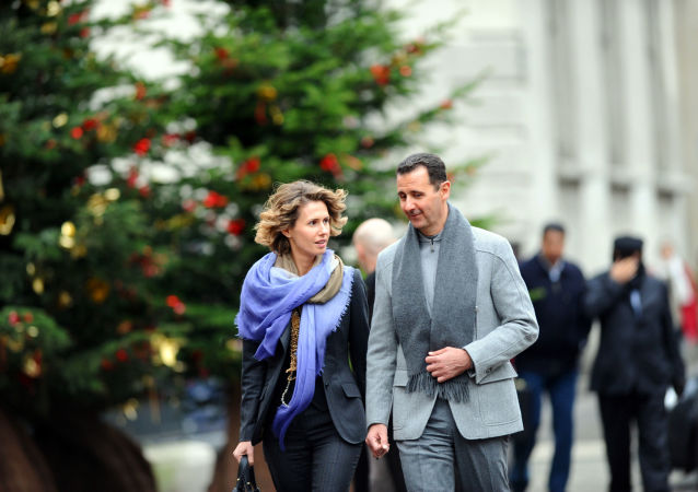 Asma Assad, esposa do presidente sírio