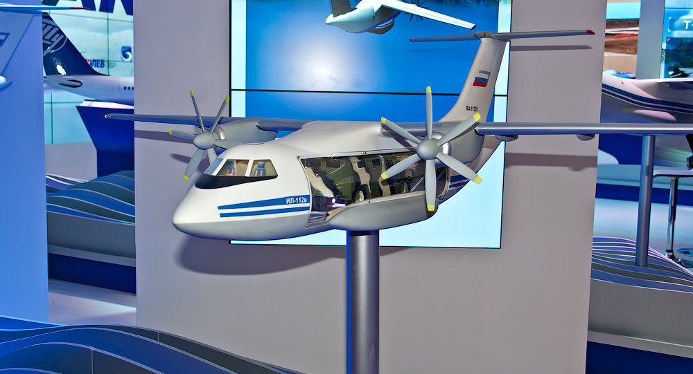 Modelo de avião Il-112V